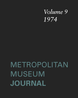 White Bronzes of Early Islamic Iran The Metropolitan Museum Journal v 9 1974
