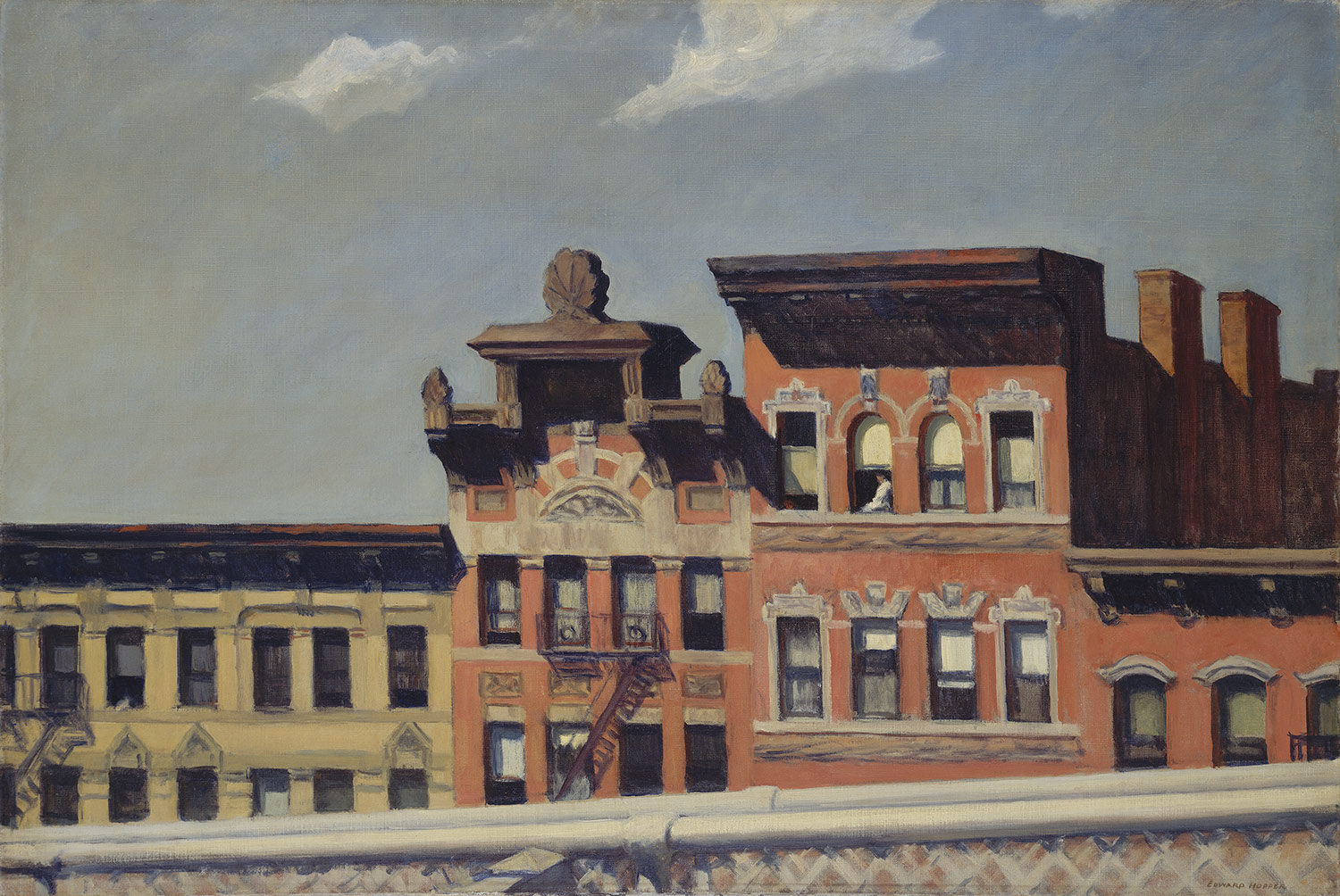 From Williamsburg Bridge, Edward Hopper, 1928