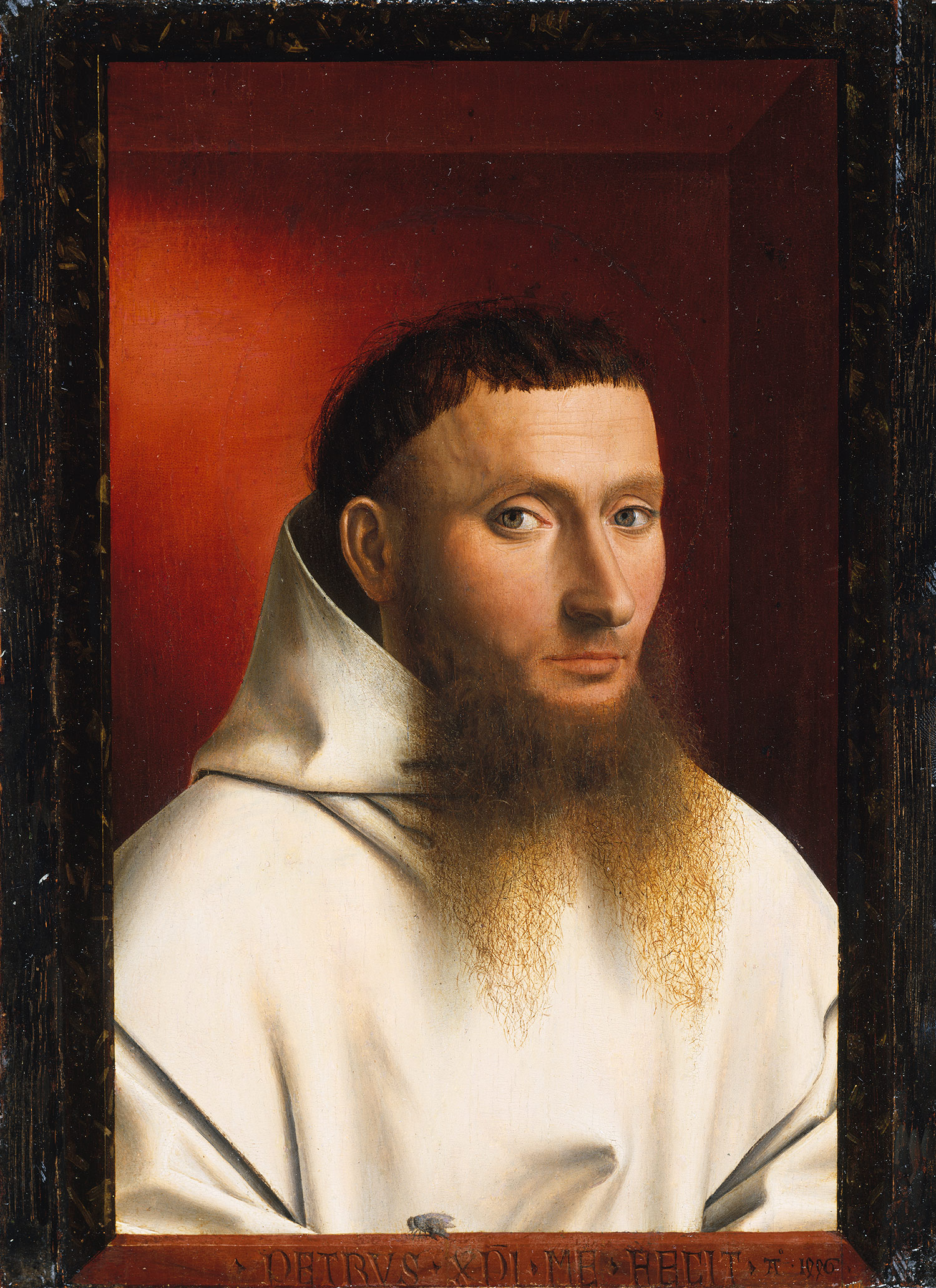 Portrait of a Carthusian   1446Picture Of Jan Van Eyck