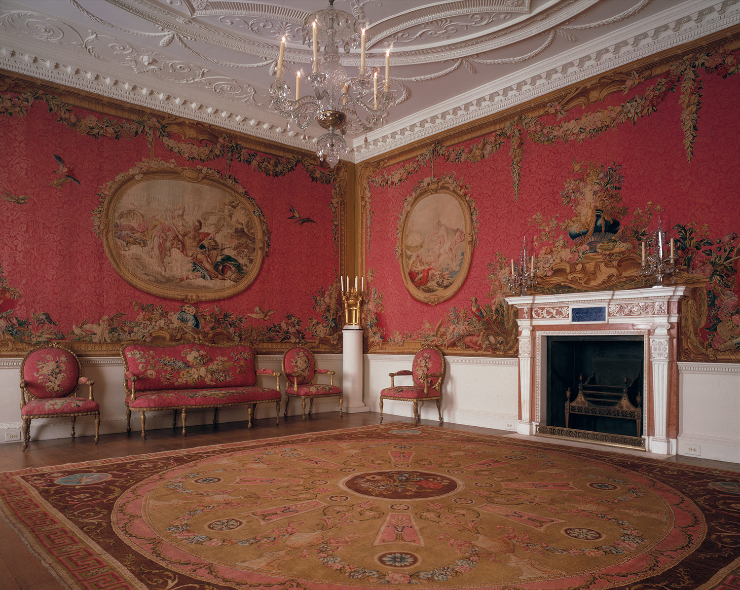 Robert Adam The Croome Court Tapestry Room