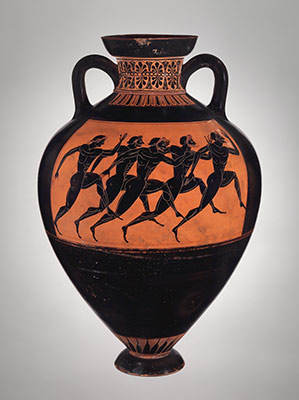 Athenian Vase Painting: Black- and Red-Figure Techniques | Essay ...