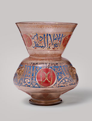 Mosque lamp for the Mausoleum of Amir Aydakin al AlaI al-Bunduqdar