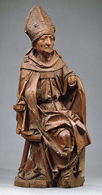 Seated Bishop