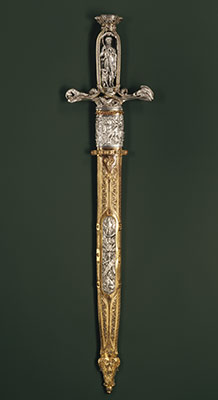 Hunting Sword with Scabbard