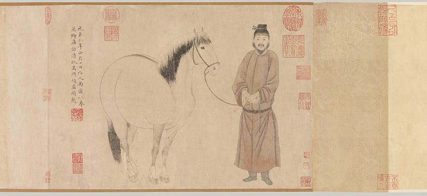 Groom and Horse