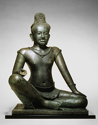 The Bodhisattva Avalokiteshvara Seated in Royal Ease