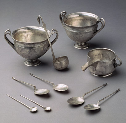Tableware from the Tivoli Hoard