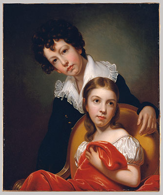 Michael Angelo and Emma Clara Peale