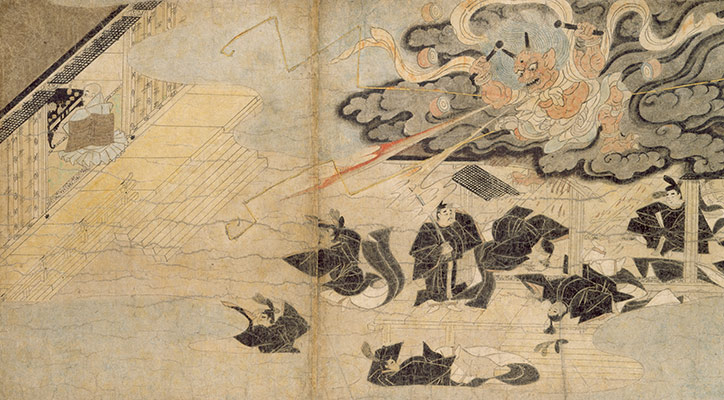 Illustrated Legends of the Kitano Tenjin Shrine (Kitano Tenjin engi emaki)