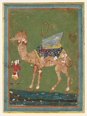 Composite camel with attendant