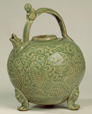 Ewer with Phoenixes