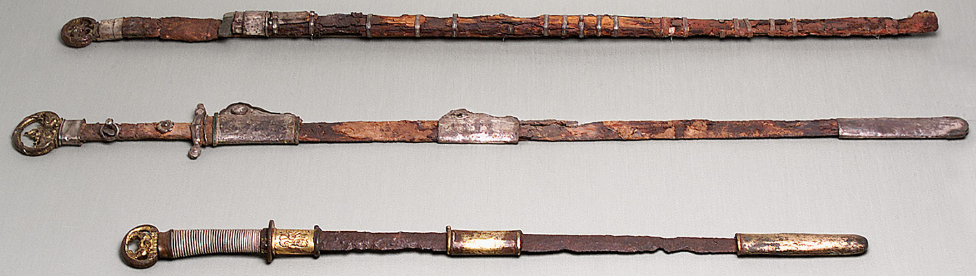 Swords, with Scabbard Mounts