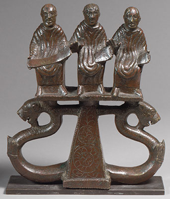 Chariot Mount with Three Figures