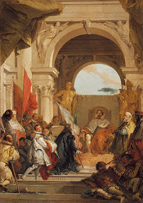 The Investiture of Bishop Harold as Duke of Franconia