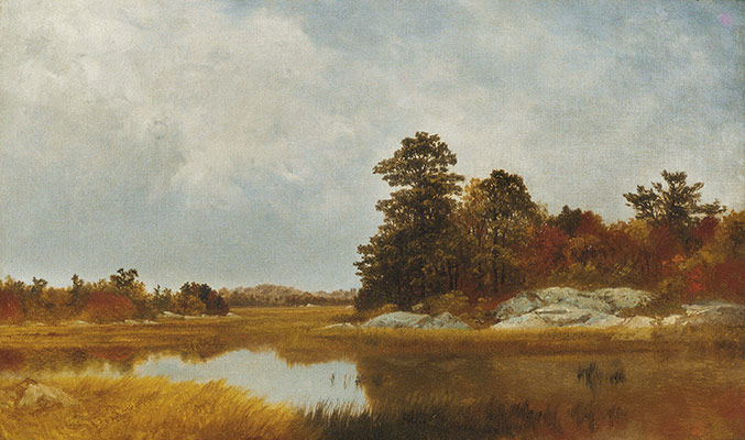 October in the Marshes