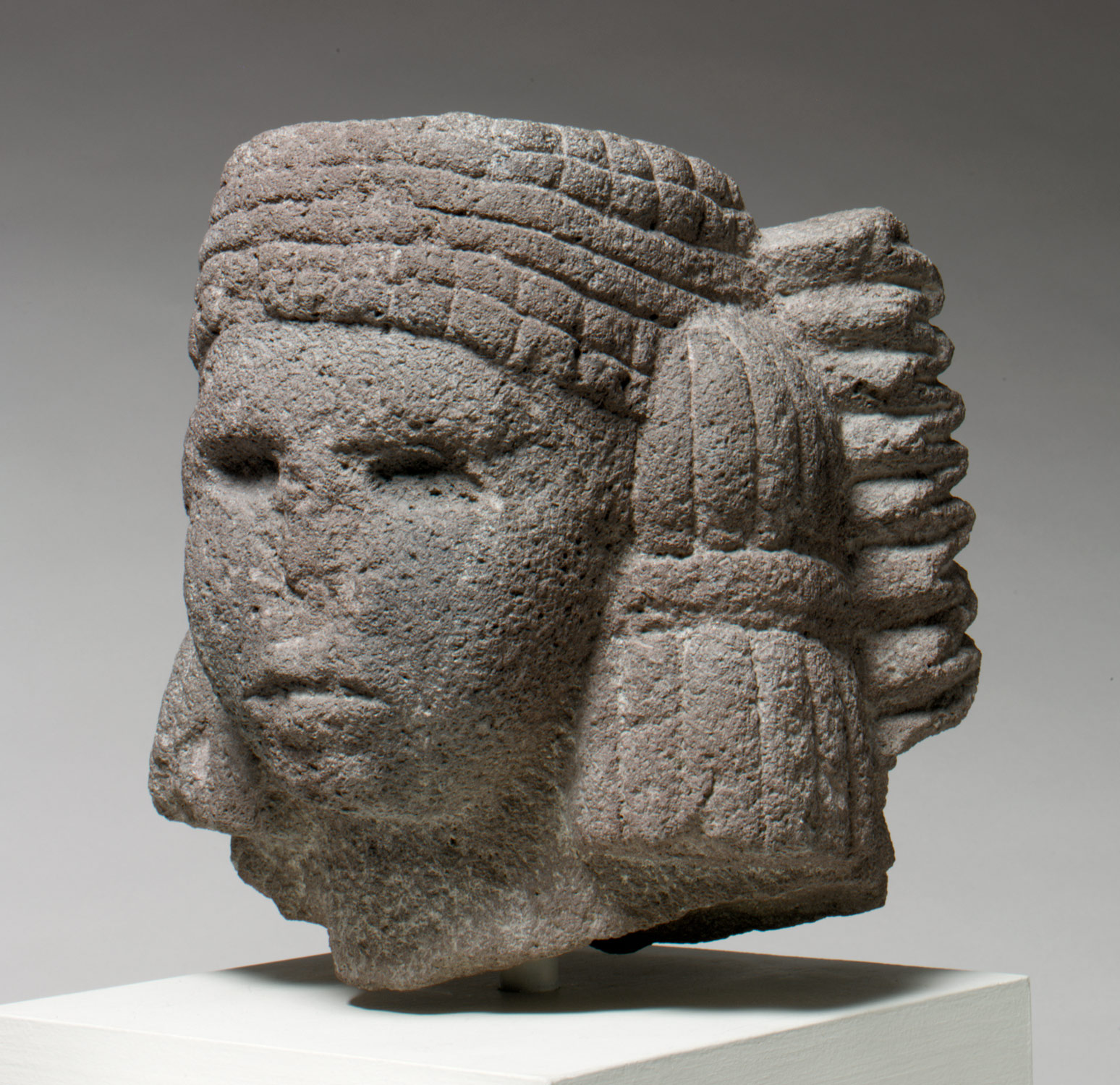 Head of a Water Deity (Chalchiuhtlicue)