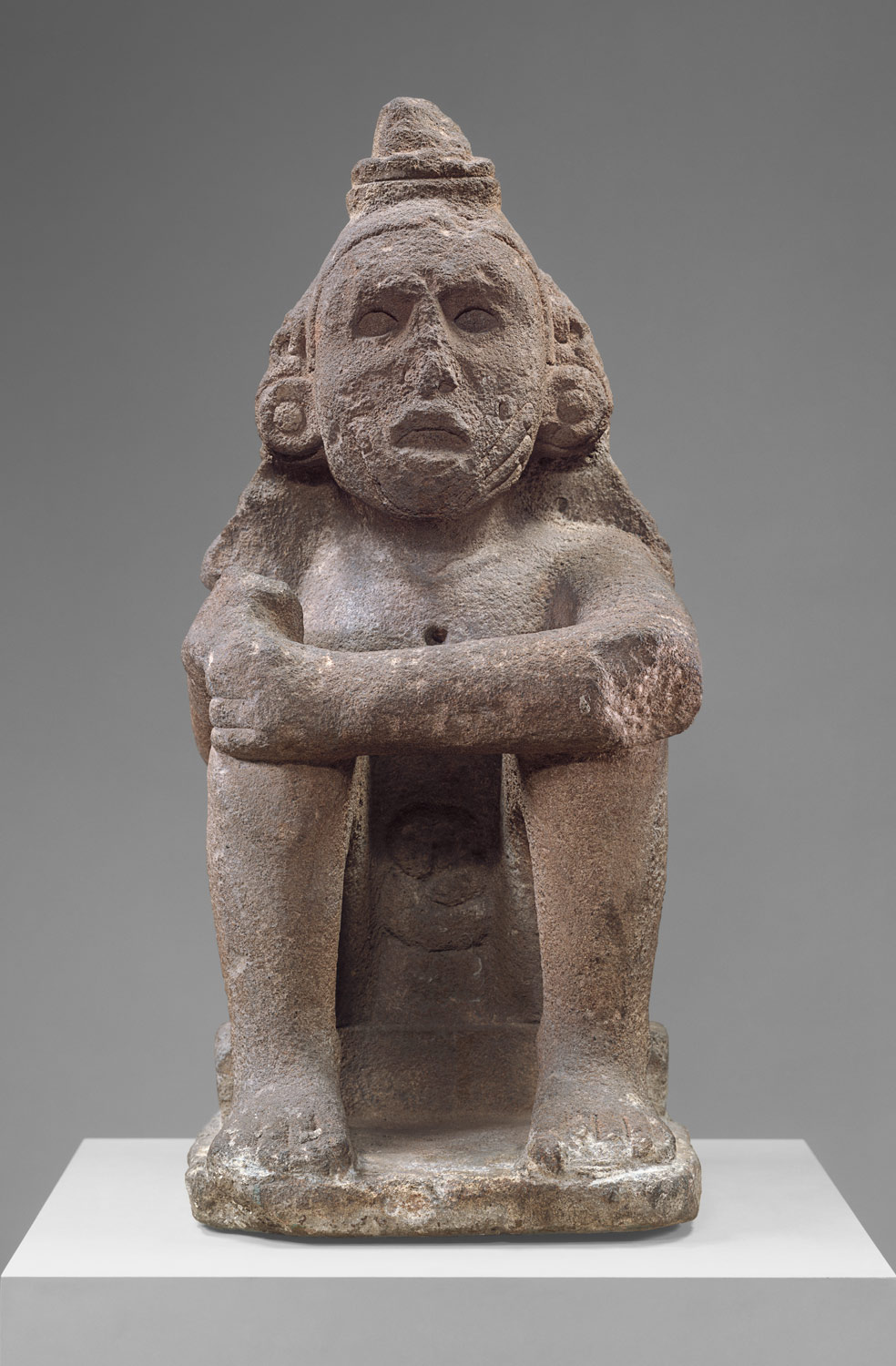 Seated Deity (Macuilcoatl)