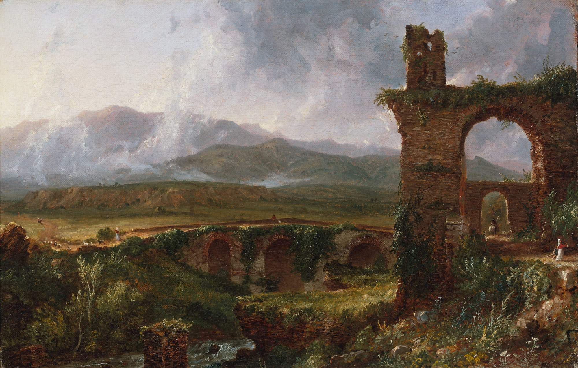 thomas cole essay heilbrunn timeline of art a view near tivoli morning