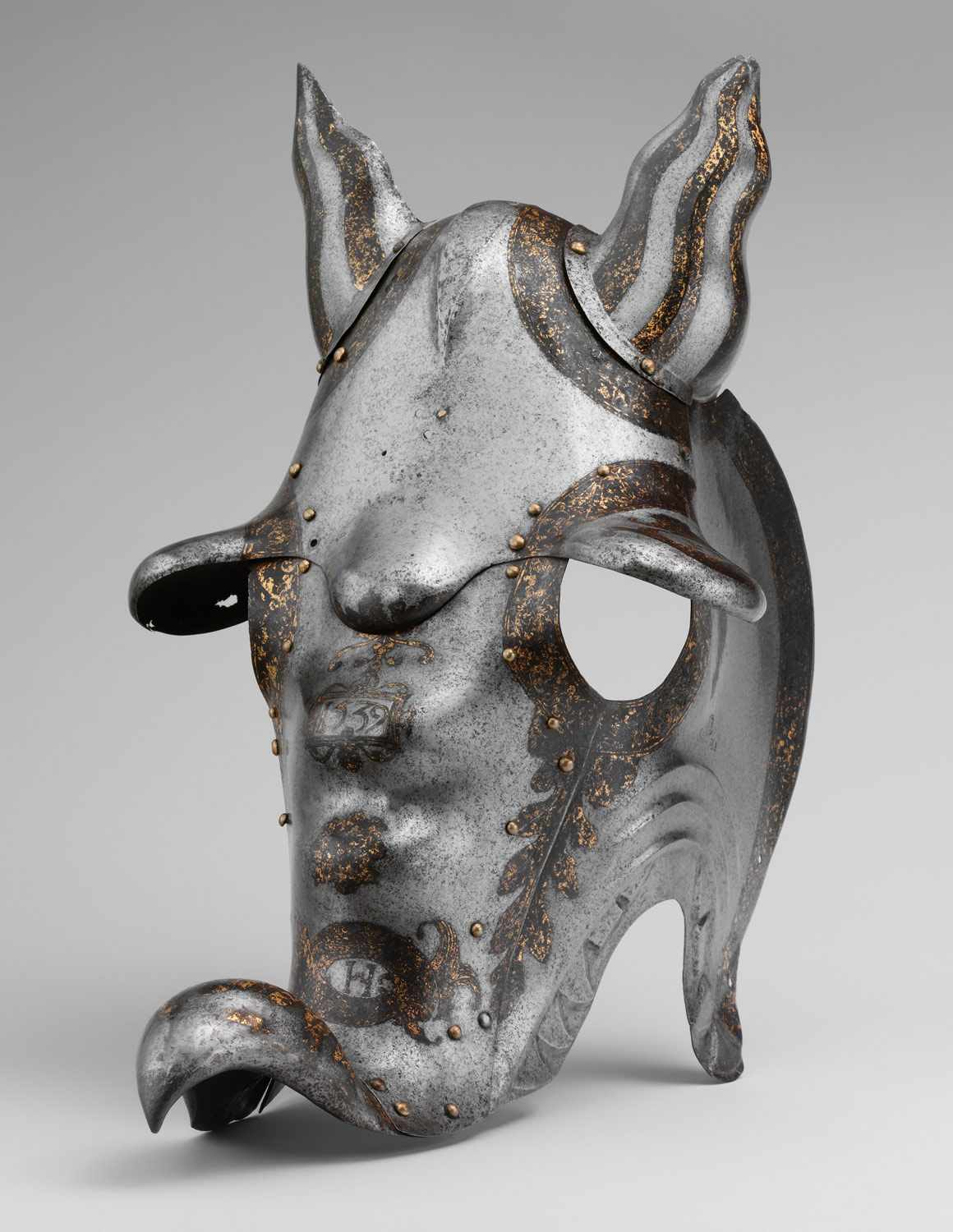 Shaffron (Horses Head Defense) of Henry II of France, When Dauphin