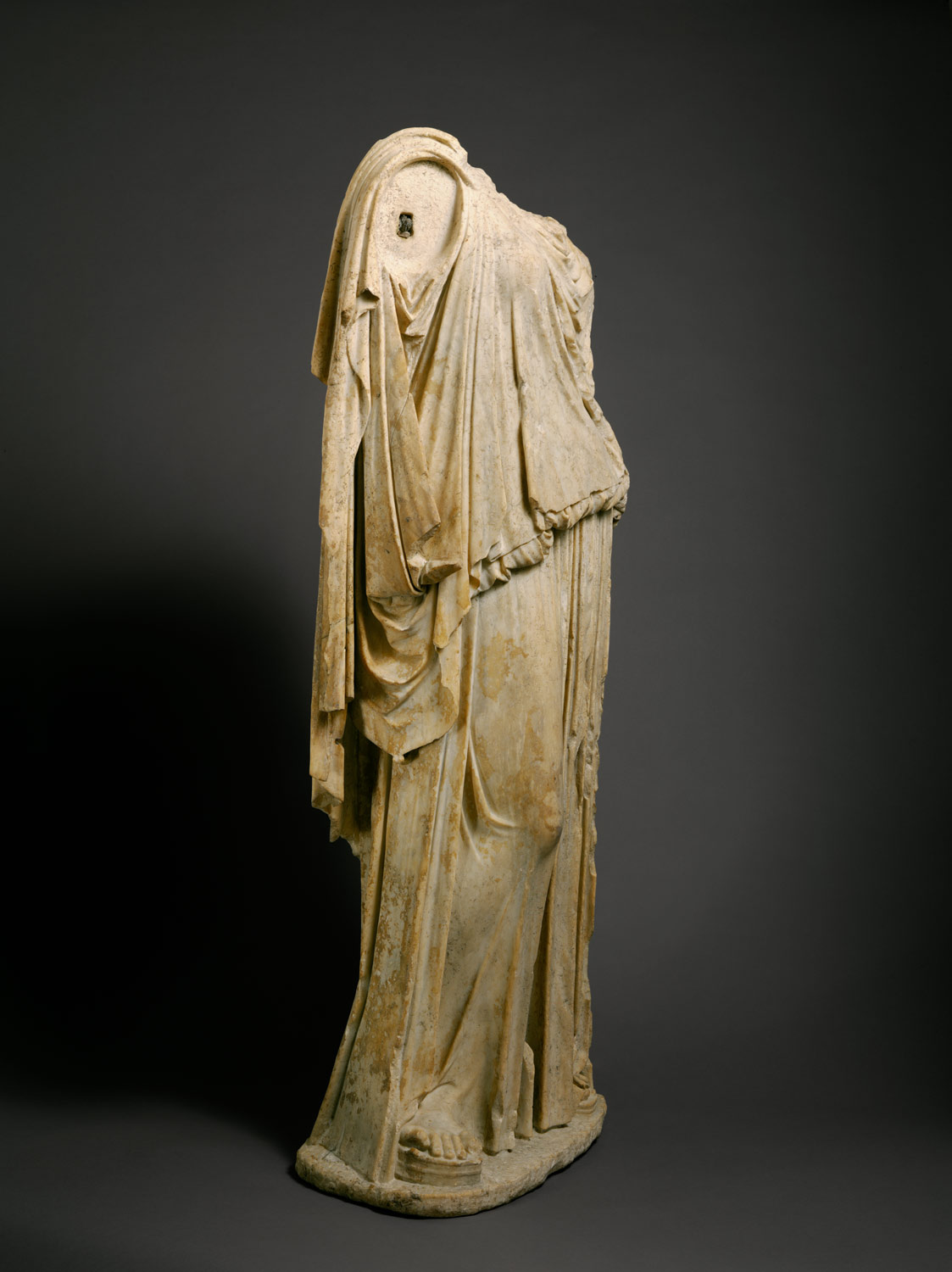 Marble statue of Eirene (the personification of peace)