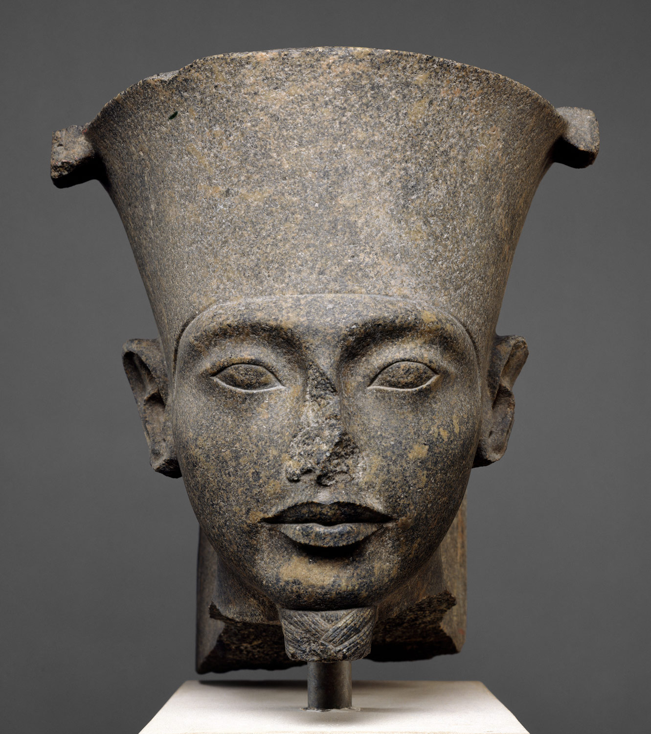 Head of the god Amun