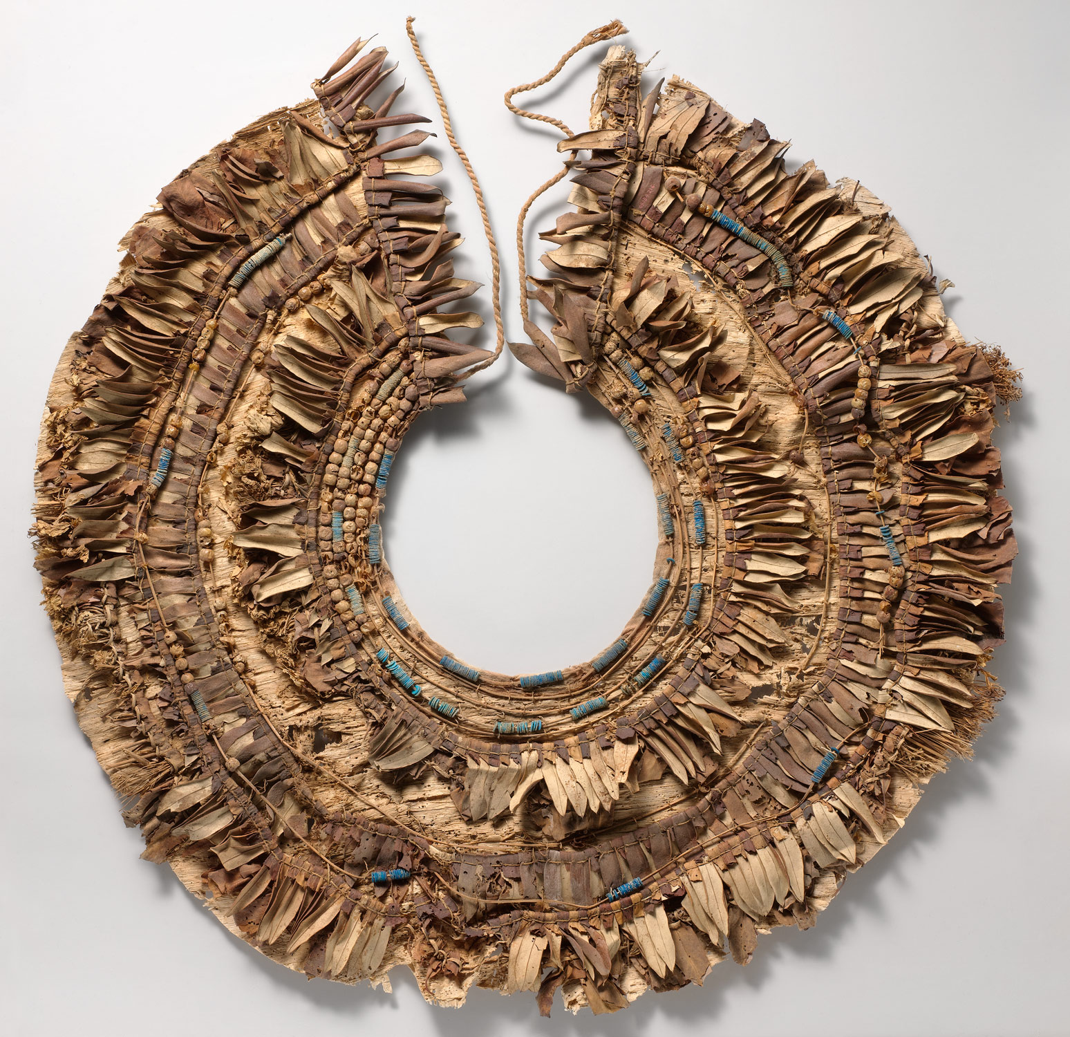 Floral collar from Tutankhamuns embalming cache