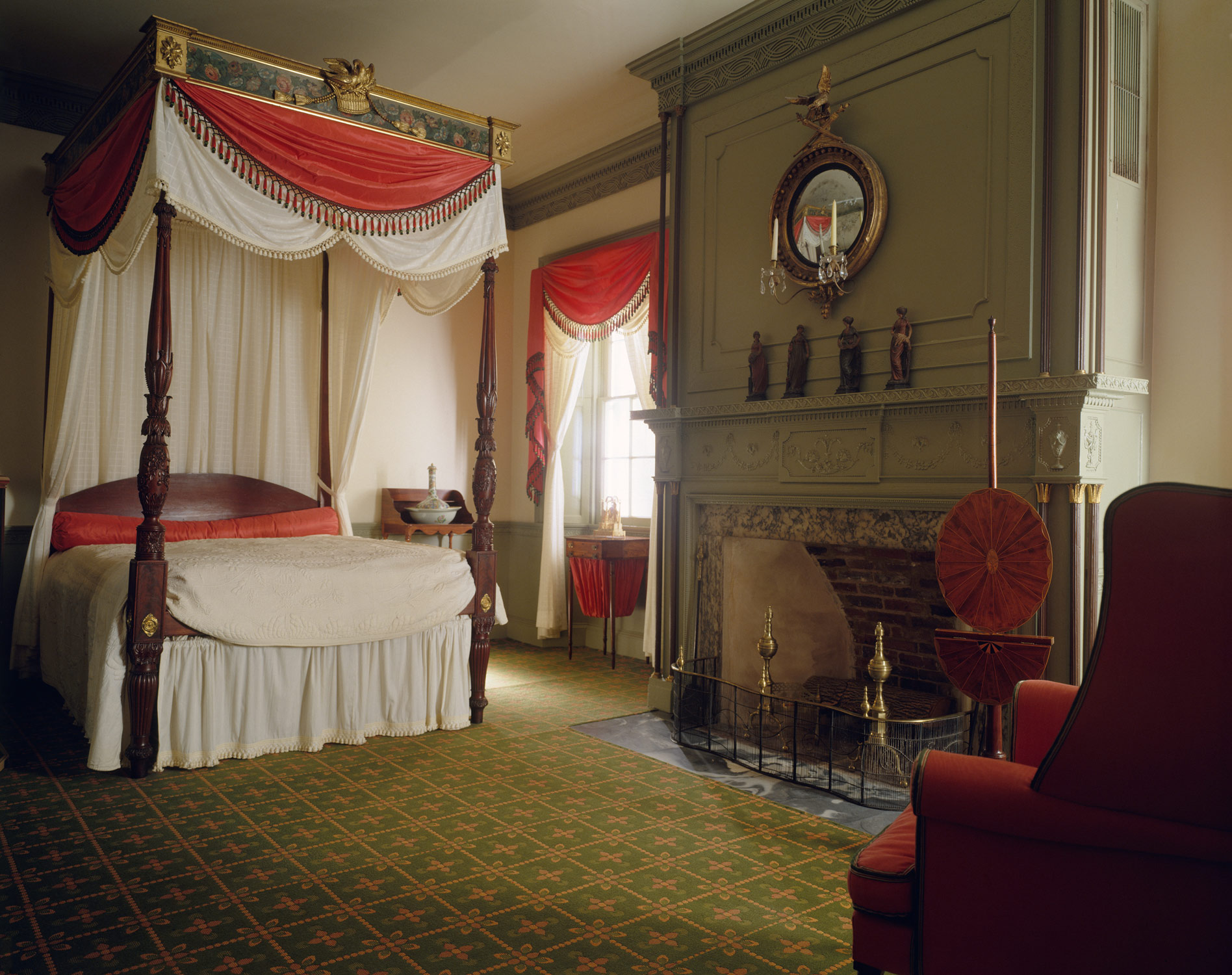 Metropolitan Bedroom Furniture American Federal Era Period Rooms Essay Heilbrunn Timeline Of
