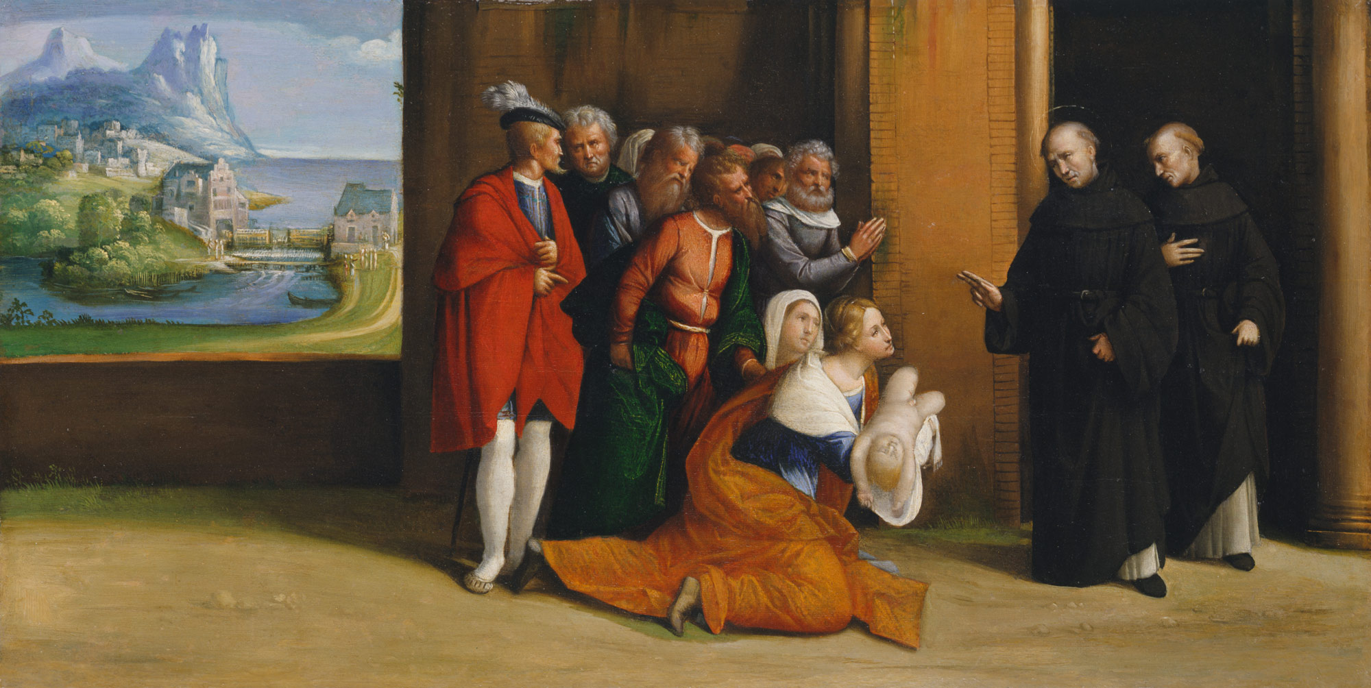 Saint Nicholas of Tolentino Reviving a Child