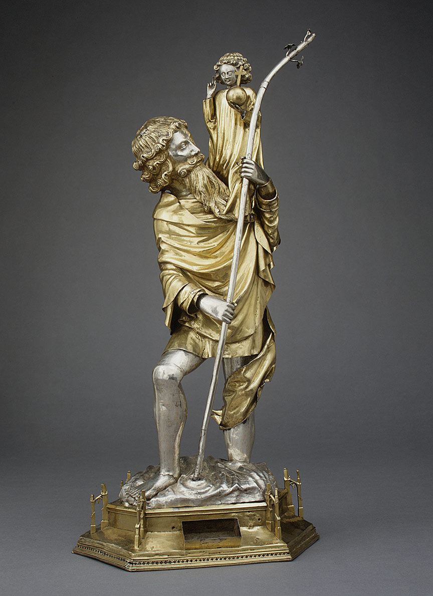 Reliquary Statuette of Saint Christopher
