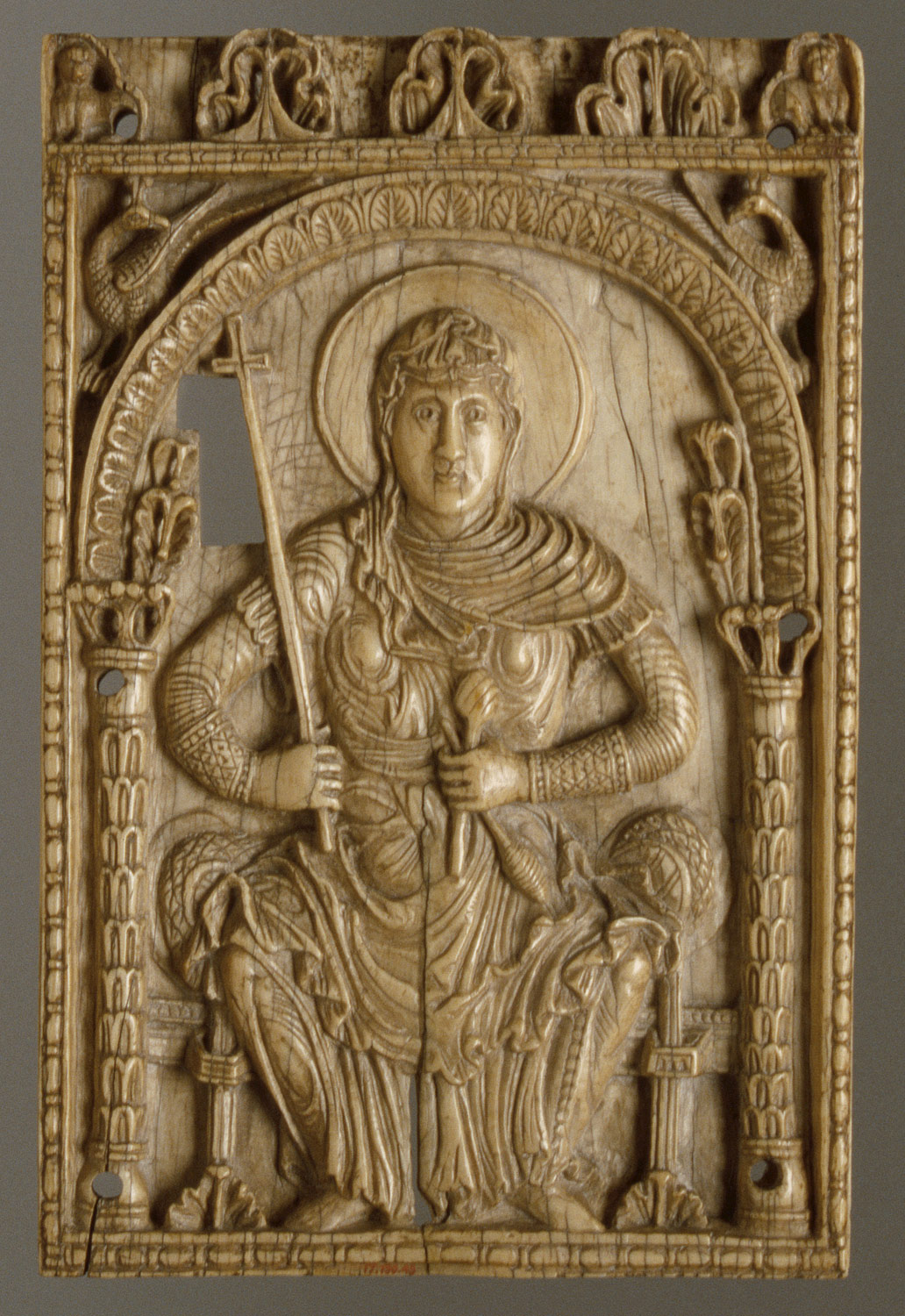 Plaque with the Virgin Mary as a Personification of the Church