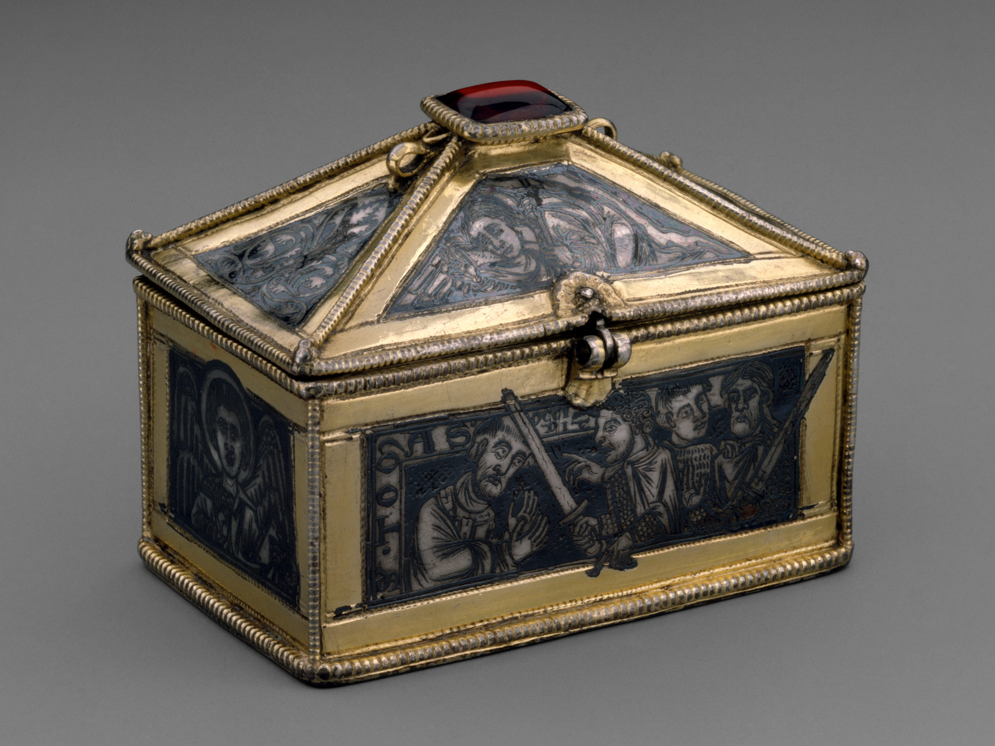 Reliquary Casket with Scenes from the Martyrdom of Saint Thomas Becket