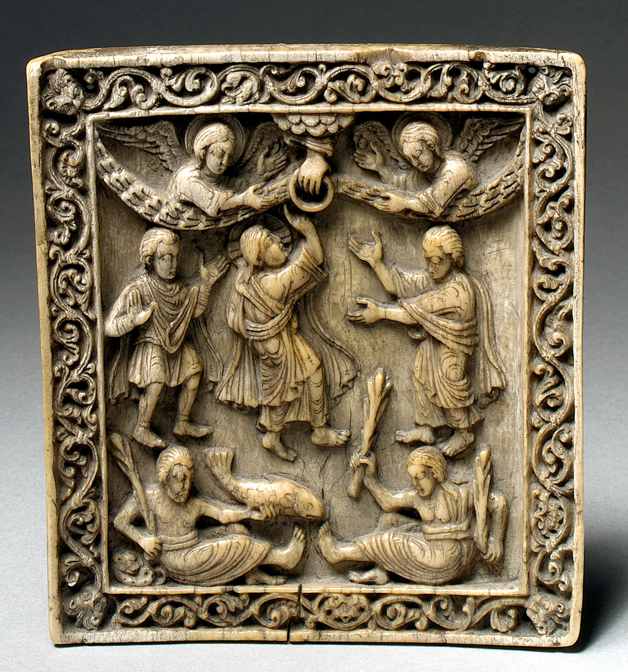 Plaque with the Ascension