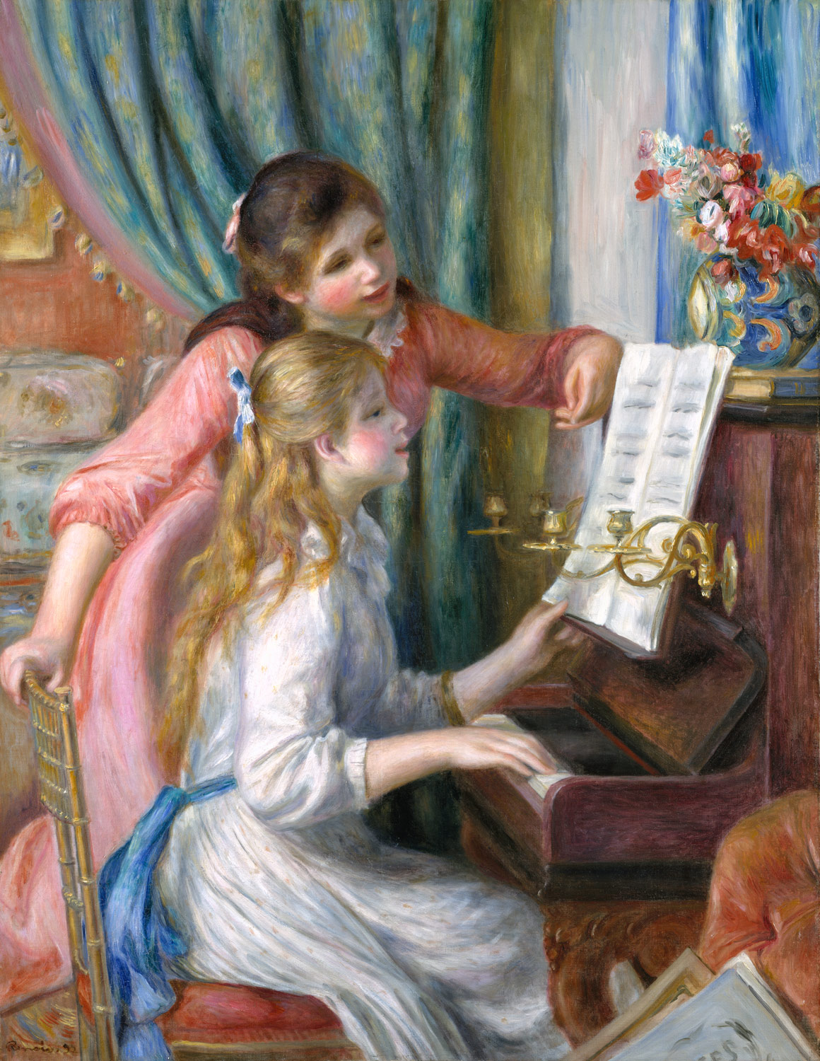 Essay the piano lesson