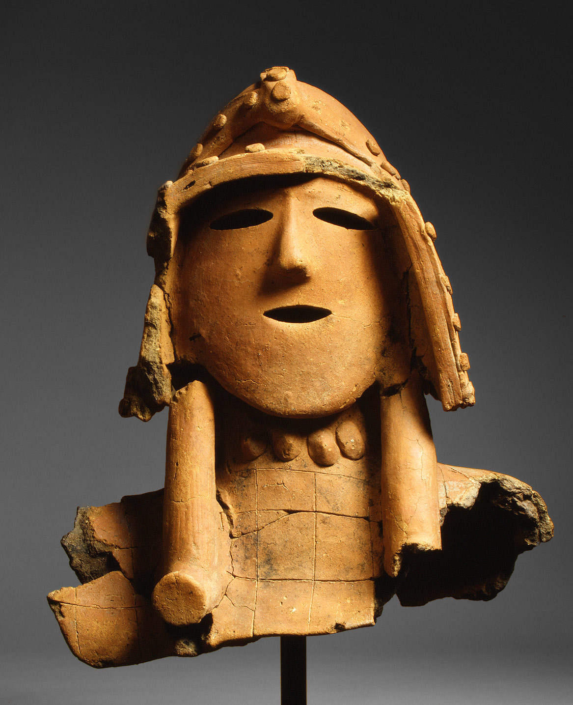 Haniwa (Hollow Clay Sculpture) of a Warrior