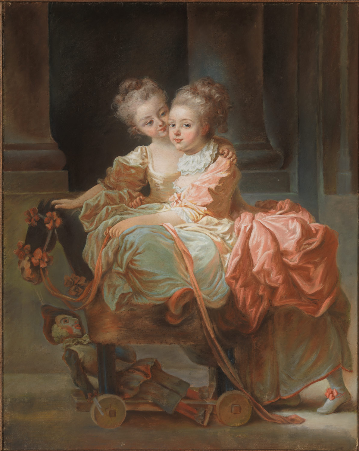 th century french women an appetite for fashion decadence a  the eighteenth century pastel portrait essay heilbrunn the two sisters