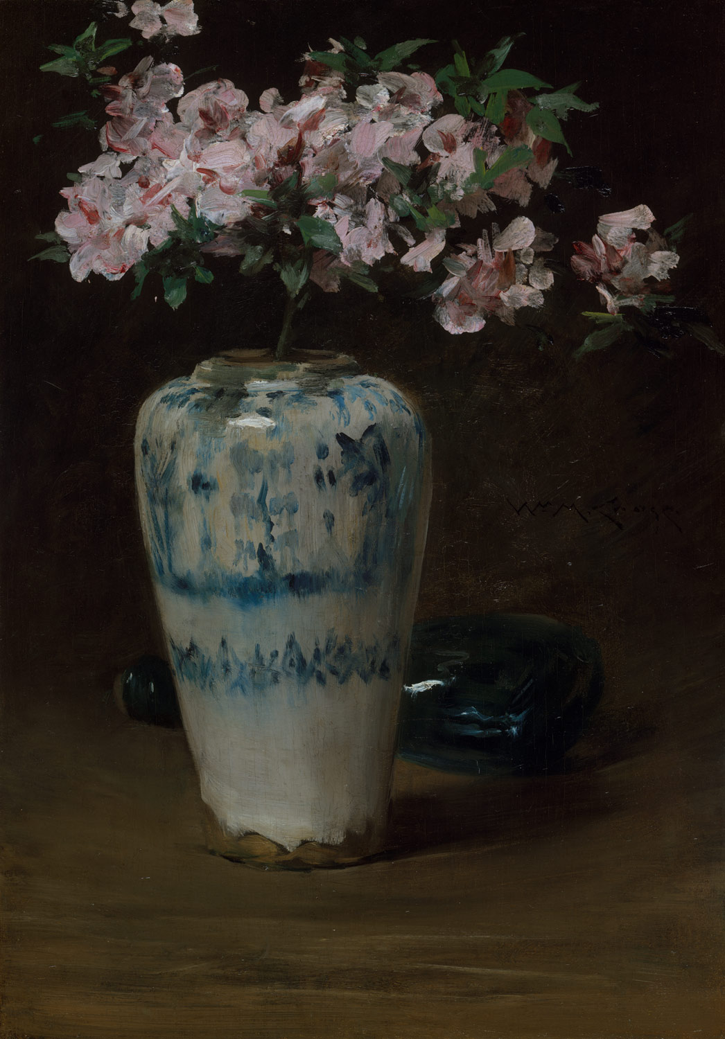 william merritt chase 1849 1916 essay heilbrunn timeline of pink azalea chinese vase