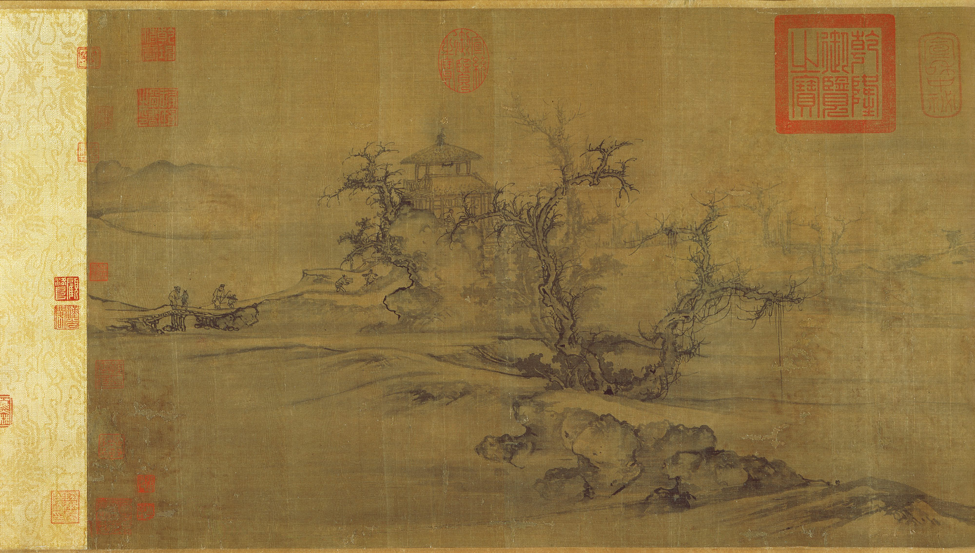 landscape painting in chinese art essay heilbrunn timeline of old trees level distance