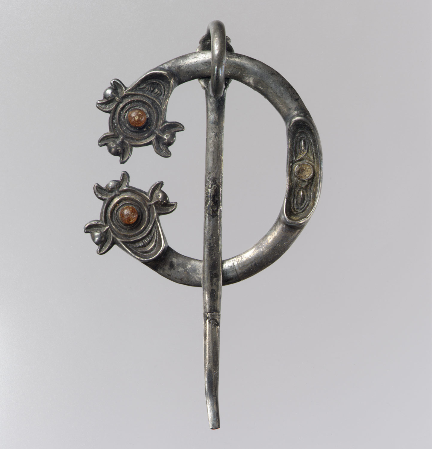 Open Ring Brooch