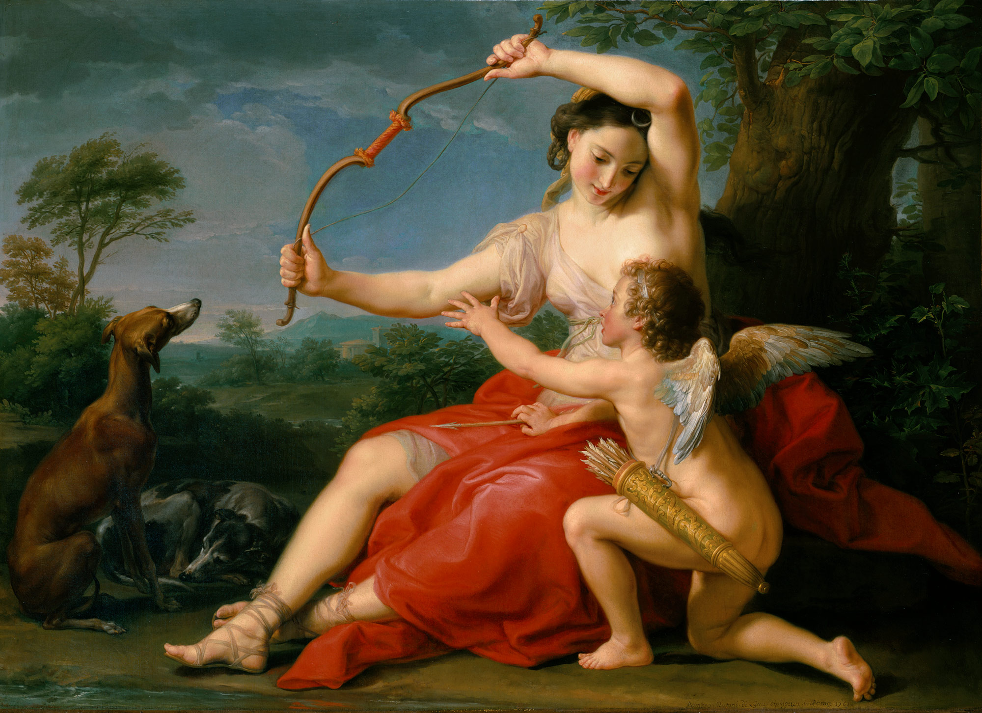 Diana and Cupid