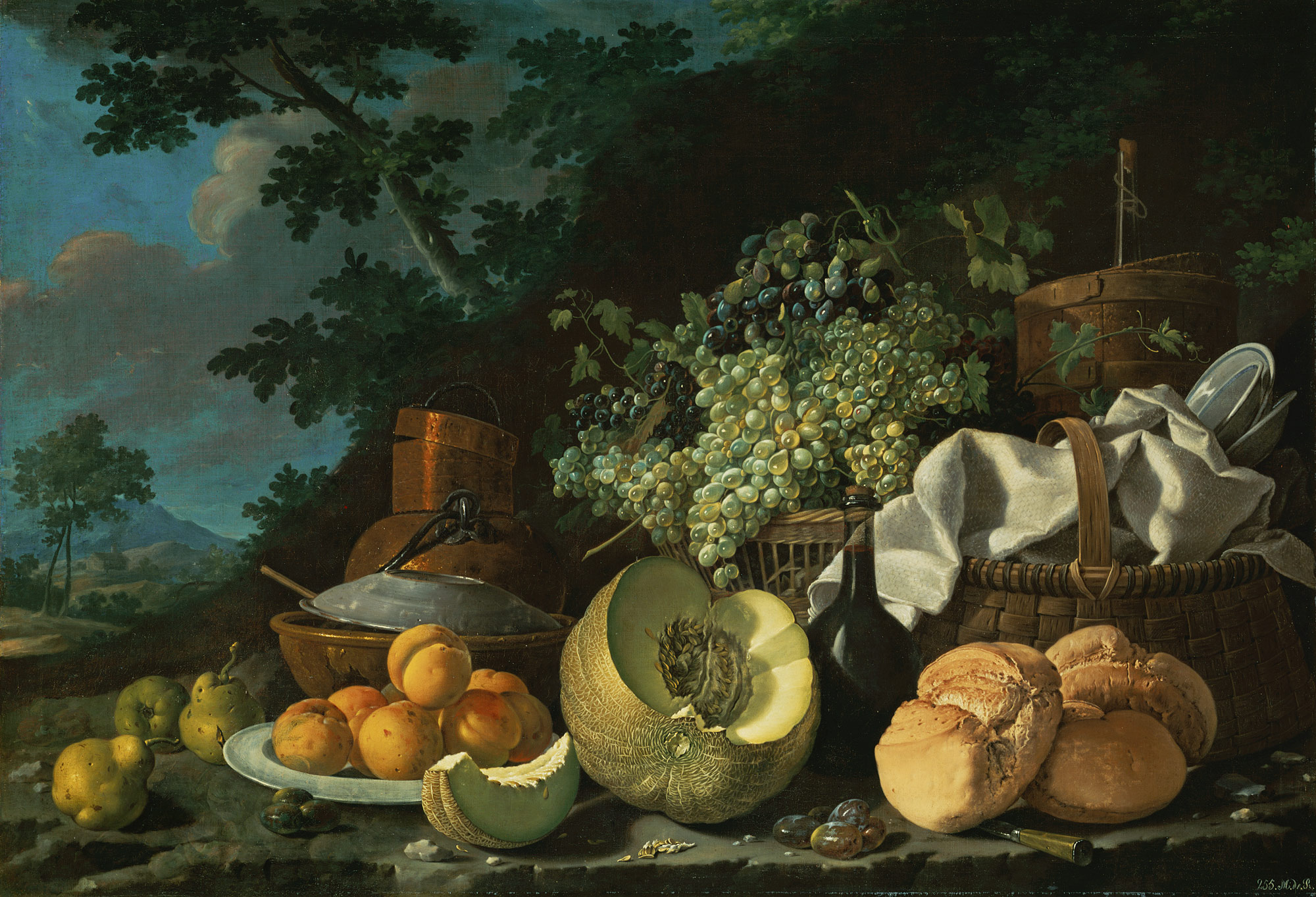 still life painting in southern europe 1600 1800 essay the afternoon meal la merienda