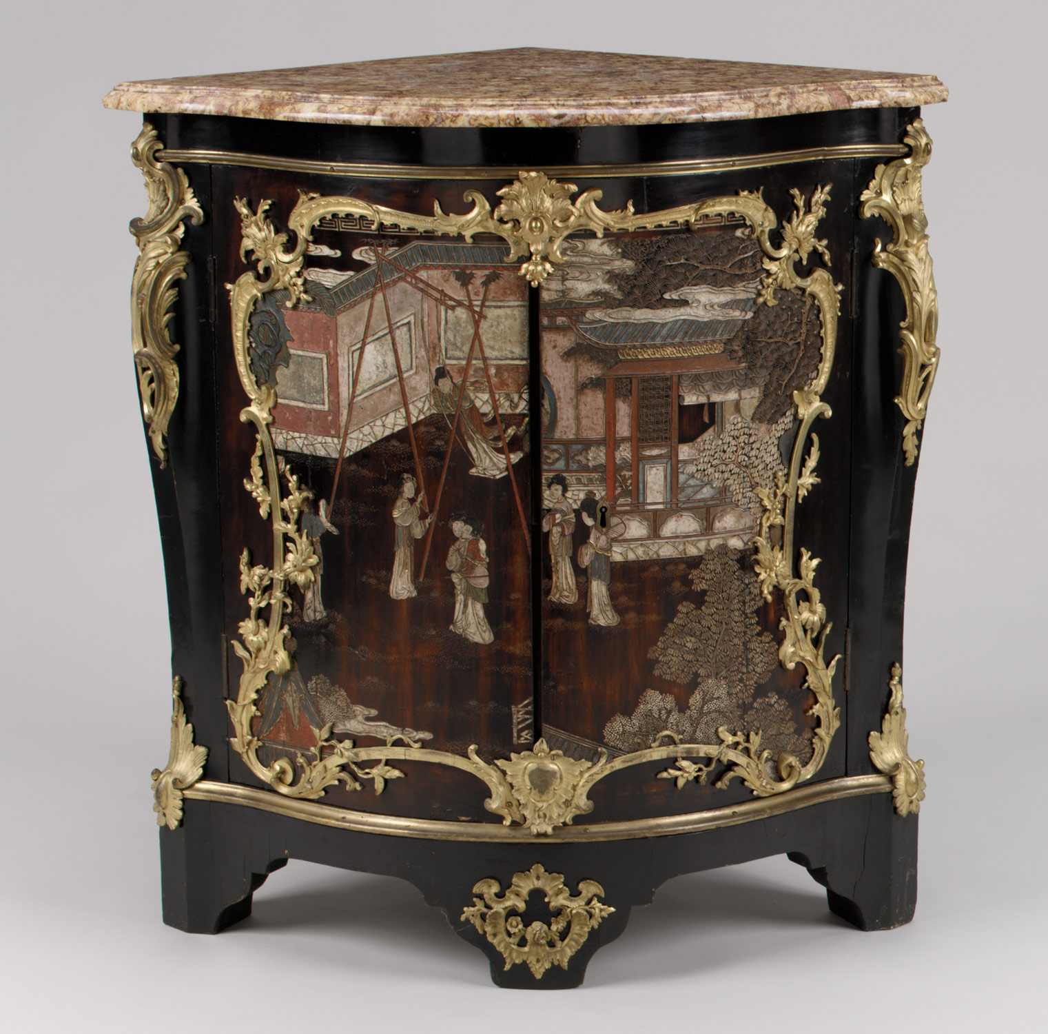 the golden age of french furniture in the eighteenth century corner cabinet encoignure one of a pair
