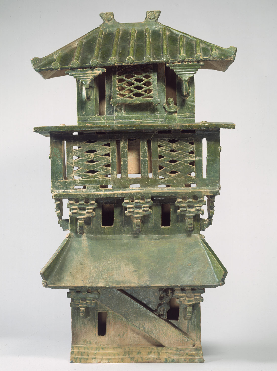 Han dynasty house model
