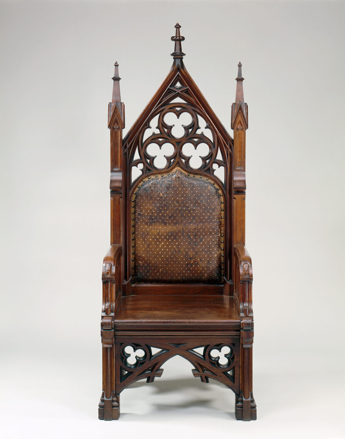 Gothic furniture chair -  Armchair Armchair