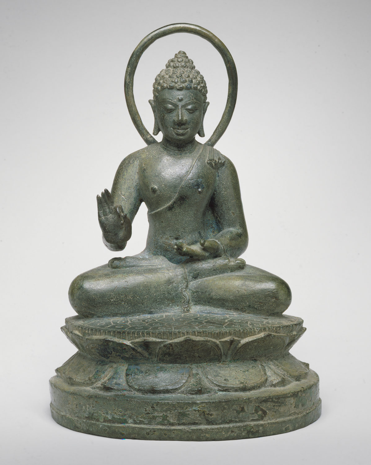 Seated Transcendent Buddha Vairochana
