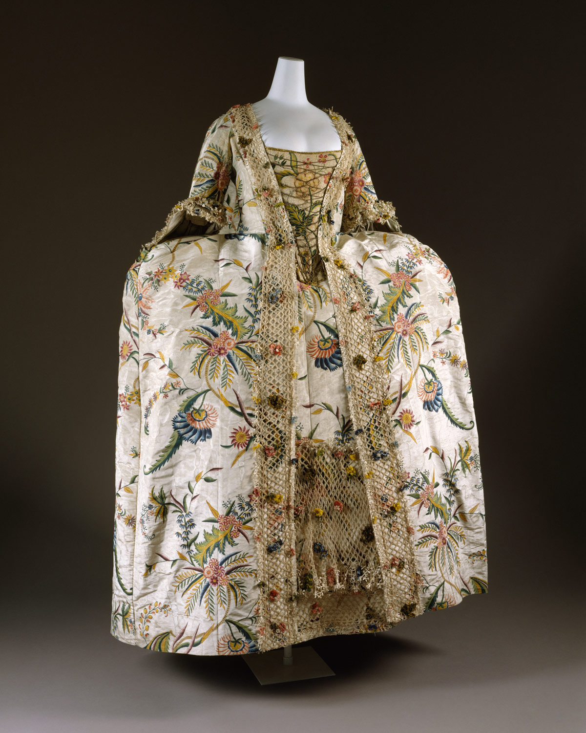 eighteenth century european dress essay heilbrunn timeline of robe à la française