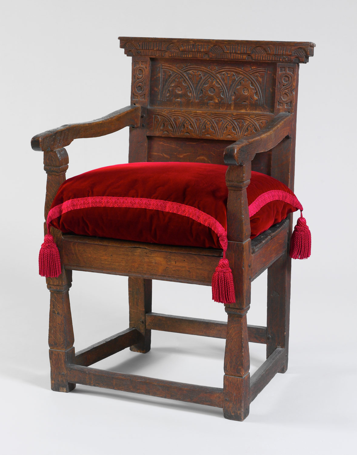 american furniture the seventeenth century and william joined armchair