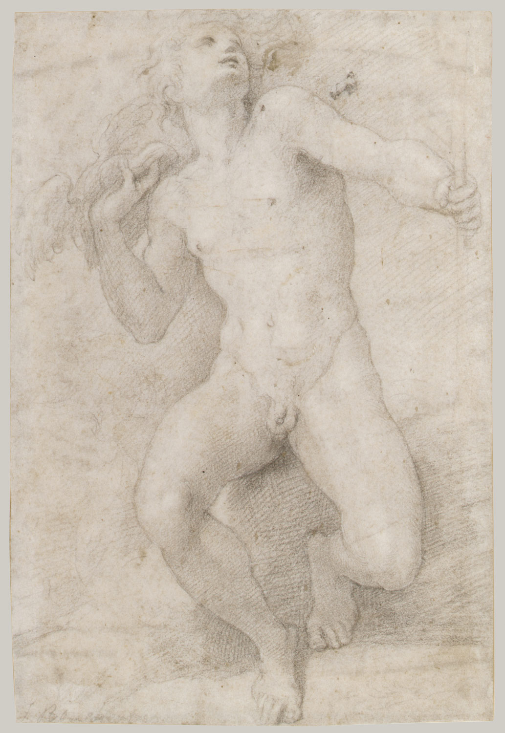 Seated Figure of Mercury