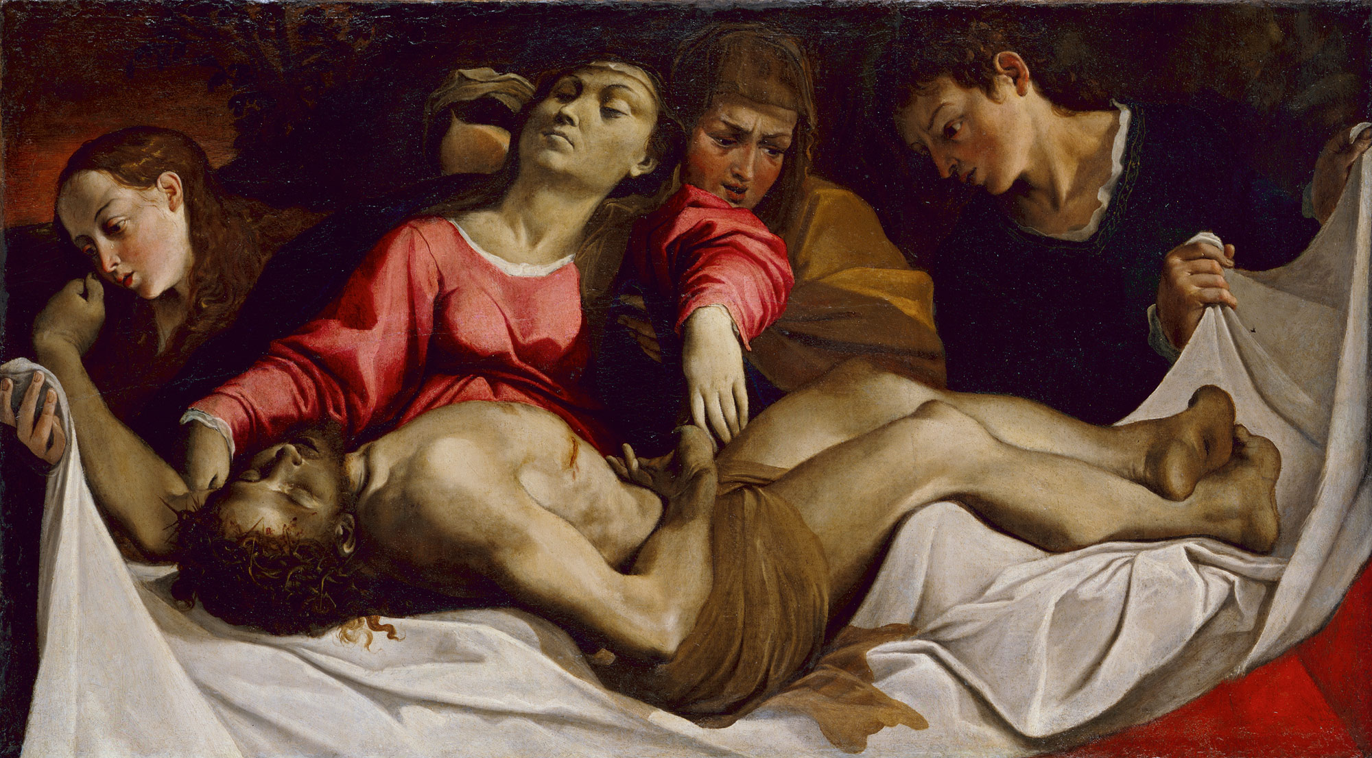 the crucifixion and passion of christ in italian painting essay christ acircmiddot the lamentation