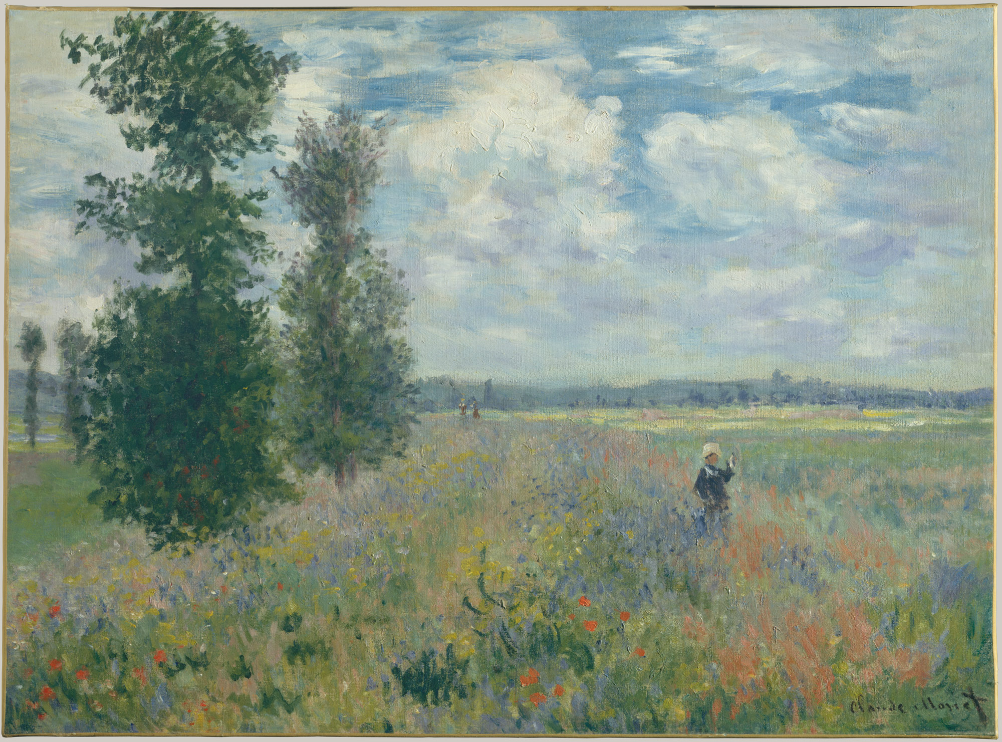 the transformation of landscape painting in essay poppy fields near argenteuil