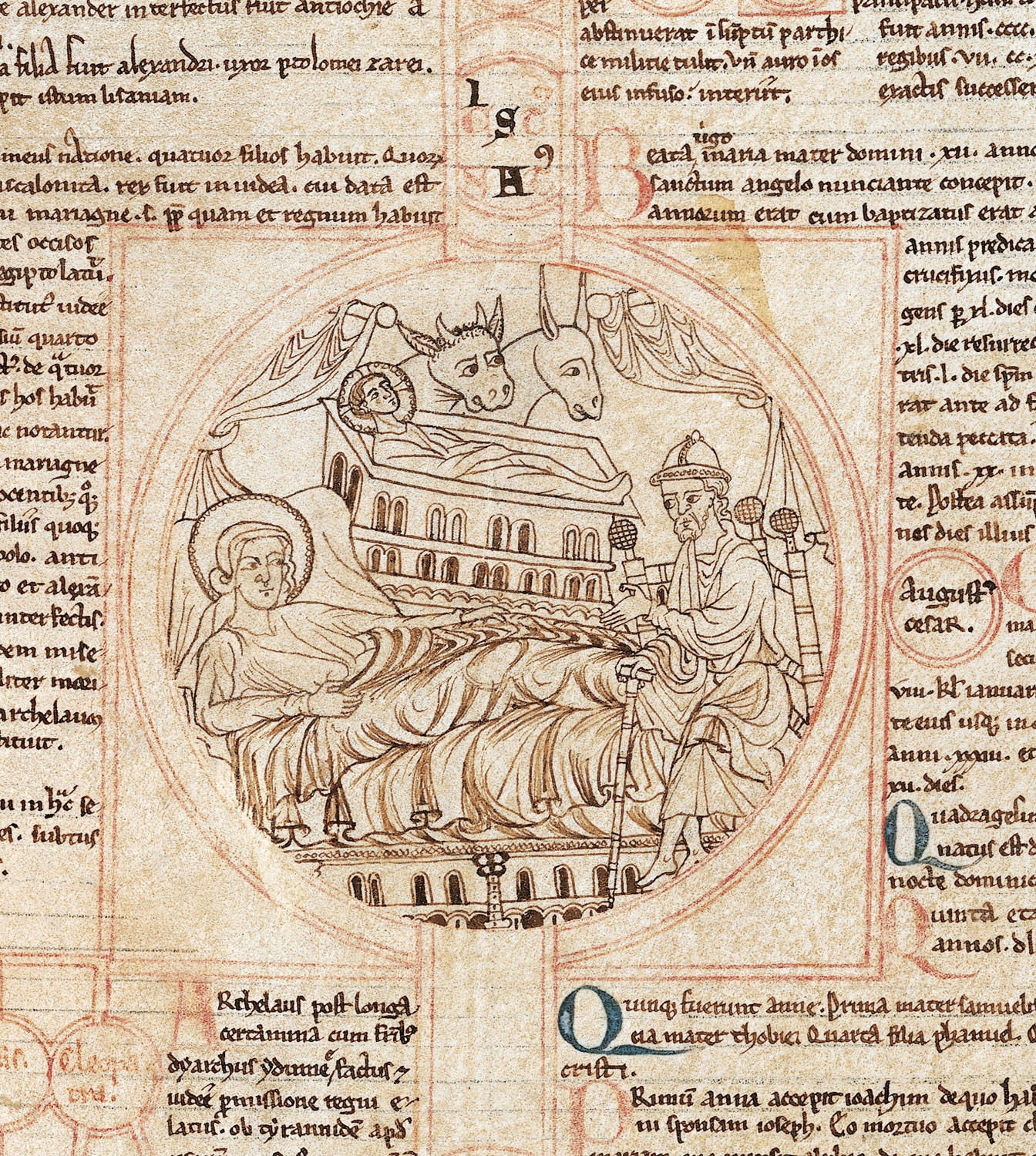 Fragment of a Compendium of the Genealogy of Christ